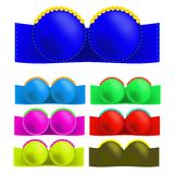 Colorful Bras Stock Images