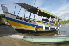 Colorful Brazilian Fishing Boat Royalty Free Stock Photo