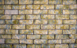 Colorful brick background. Close up background of colorful bricked stones Royalty Free Stock Photo