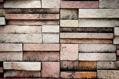 Colorful Brick Texture Stock Image