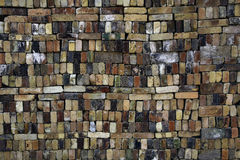 Colorful Brick Wall Royalty Free Stock Images