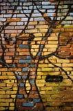 Colorful brick wall Royalty Free Stock Photos
