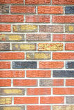 Colorful Brick Wall Royalty Free Stock Photography