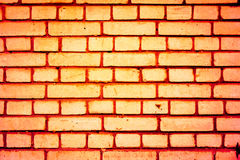 Colorful brick wall pattern, painted bricks as urban texture royalty free stock photo