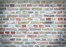 Colorful brick wall texture Stock Images