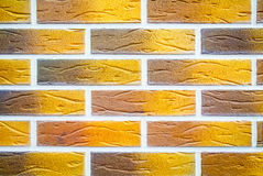 Colorful brick wall texture background Stock Image