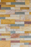 Colorful of brick wall texture background. Royalty Free Stock Photography