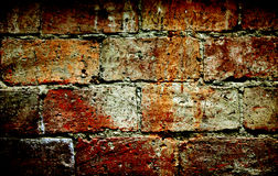 Colorful brick wall texture surface background Stock Photography