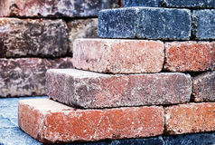 Colorful bricks Stock Photography