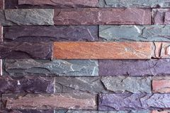 Free Colorful Bricks Wall Pattern Background. Stock Image - 118849251