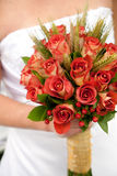 Colorful bridal bouquet Stock Photo