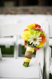 Colorful Bridal bouquet of flowers Stock Photography