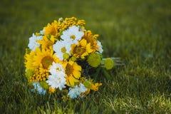 Colorful Bridal Bouquet Stock Photos