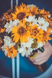 Colorful Bridal Bouquet Stock Photos