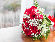Colorful bridal bouquet Stock Photo