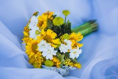 Colorful Bridal Bouquet Stock Photography