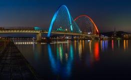 Expo Bridge in Daejeon,South Korea. Stock Image