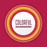 Colorful abstract gradient background with text box graphics Royalty Free Stock Photo