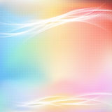 Colorful bright abstract light swoosh line layout Royalty Free Stock Photos