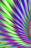Colorful bright background of colored strips  diverge from the bottom to the top. Abstract unique. Illustration and decoration. Violet and  green, blue and Stock Photo