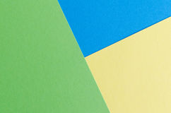 Colorful background in pop art style. Colorful bright background in pop art style. Yellow, blue and green paper texture Royalty Free Stock Photo