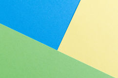 Colorful background in pop art style. Colorful bright background in pop art style. Yellow, blue and green paper texture Royalty Free Stock Images