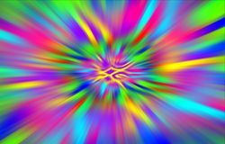 Colorful bright background of spots diverges from the middle to the edges. Royalty Free Stock Photo