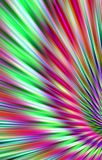 Colorful bright background from the strips diverge from the bottom to the edges. Abstract unique illustration and decoration. Red and green, purple and violet Royalty Free Stock Images
