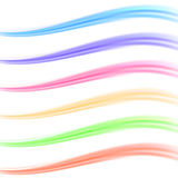 Colorful bright banner divider collection Royalty Free Stock Image