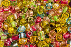Colorful and bright beads Royalty Free Stock Photo