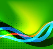 Colorful bright lines background design Stock Images