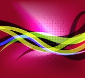 Colorful bright lines background design Stock Photos