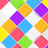 Colorful bright mobile web tiles layout Royalty Free Stock Photos