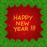 Colorful and bright New Years background. Royalty Free Stock Photo