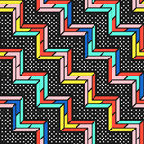 Colorful bright seamless pattern Stock Image