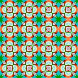 Colorful, bright seamless pattern Stock Images
