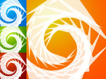 Colorful bright spirally background. Spiral, vortex background s Royalty Free Stock Photography