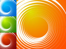 Colorful bright spirally background. Spiral, vortex background s Stock Image