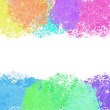 Colorful bright watercolor background Royalty Free Stock Images