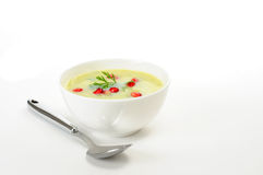 Colorful Broccoli Soup Royalty Free Stock Photos