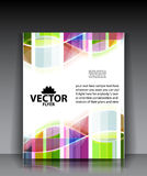 Colorful brochure templates Stock Photos