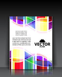 Colorful brochure templates Royalty Free Stock Photo