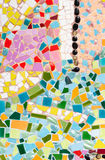 Colorful broken tile. Royalty Free Stock Image