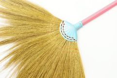 Colorful broom royalty free stock photos