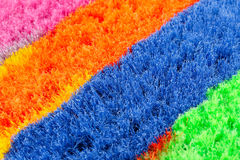 Colorful brooms Royalty Free Stock Images