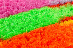 Colorful brooms Stock Image