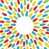 Colorful brush stroke background design. Colorful brush stroke move out background design Stock Photography