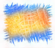 Colorful brush strokes background Royalty Free Stock Photo