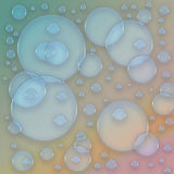 Colorful bubble. Abstract illustration based on colorful soap bubble Royalty Free Stock Photography