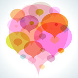 Colorful Bubble Background Royalty Free Stock Photo